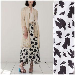 Anthropologie Sanchita Windsor Maxi Skirt Size 4
